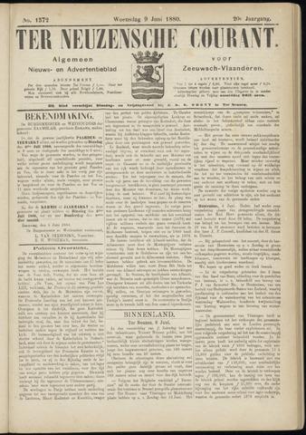 Ter Neuzensche Courant. Algemeen Nieuws- en Advertentieblad voor Zeeuwsch-Vlaanderen / Neuzensche Courant ... (idem) / (Algemeen) nieuws en advertentieblad voor Zeeuwsch-Vlaanderen 1880-06-09