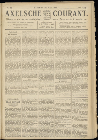 Axelsche Courant 1935-05-21