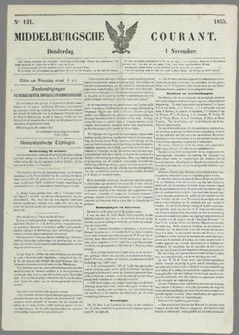 Middelburgsche Courant 1855-11-01
