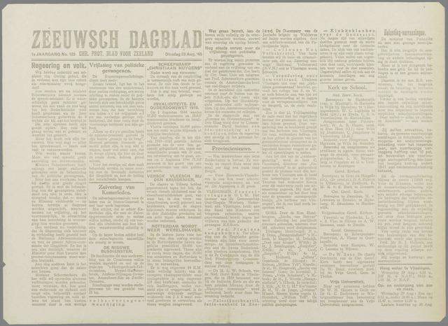 Zeeuwsch Dagblad 1945-08-28