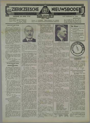 Zierikzeesche Nieuwsbode 1937-04-20
