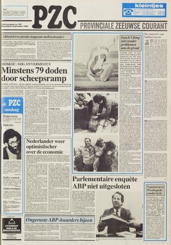 Provinciale Zeeuwse Courant 1986-09-03