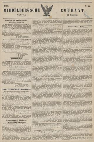 Middelburgsche Courant 1853-01-27
