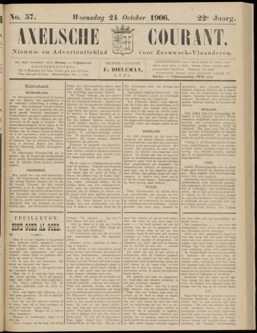 Axelsche Courant 1906-10-24