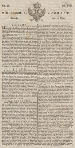 Middelburgsche Courant 1763-05-14