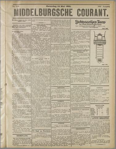 Middelburgsche Courant 1921-05-14