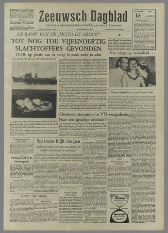 Zeeuwsch Dagblad 1958-08-16
