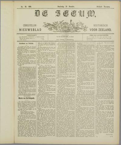 De Zeeuw. Christelijk-historisch nieuwsblad voor Zeeland 1898-12-29