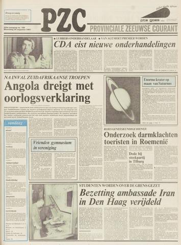 Provinciale Zeeuwse Courant 1981-08-26