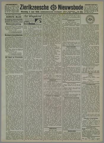 Zierikzeesche Nieuwsbode 1930-06-02