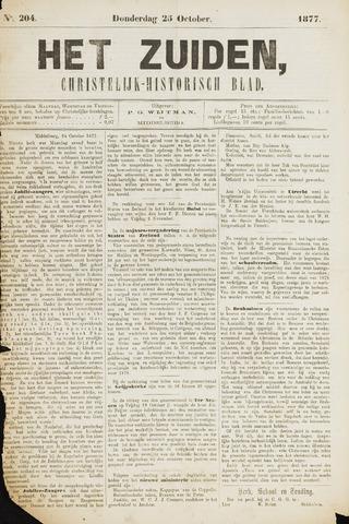 Het Zuiden, Christelijk-historisch blad 1877-10-25