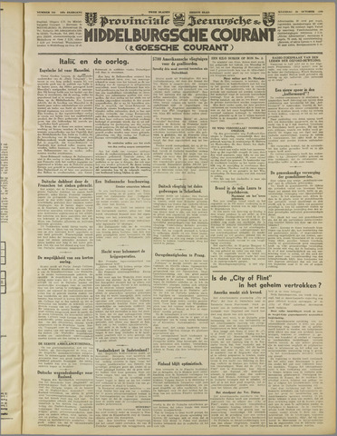 Middelburgsche Courant 1939-10-30