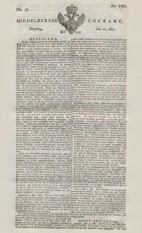 Middelburgsche Courant 1761-05-12
