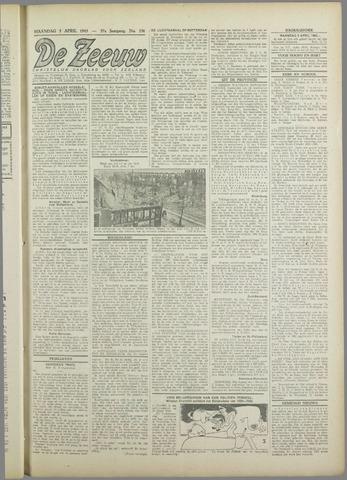 De Zeeuw. Christelijk-historisch nieuwsblad voor Zeeland 1943-04-05