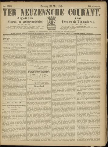 Ter Neuzensche Courant. Algemeen Nieuws- en Advertentieblad voor Zeeuwsch-Vlaanderen / Neuzensche Courant ... (idem) / (Algemeen) nieuws en advertentieblad voor Zeeuwsch-Vlaanderen 1896-05-23