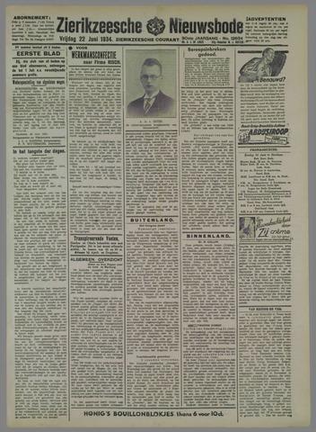Zierikzeesche Nieuwsbode 1934-06-22
