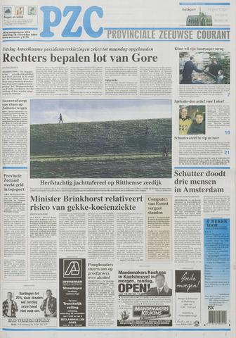 Provinciale Zeeuwse Courant 2000-11-18