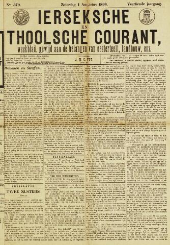 Ierseksche en Thoolsche Courant 1896-08-01