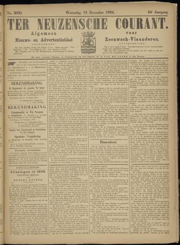 Ter Neuzensche Courant. Algemeen Nieuws- en Advertentieblad voor Zeeuwsch-Vlaanderen / Neuzensche Courant ... (idem) / (Algemeen) nieuws en advertentieblad voor Zeeuwsch-Vlaanderen 1894-12-19