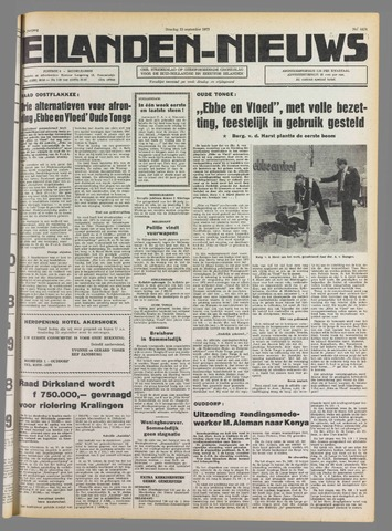 Eilanden-nieuws. Christelijk streekblad op gereformeerde grondslag 1975-09-23