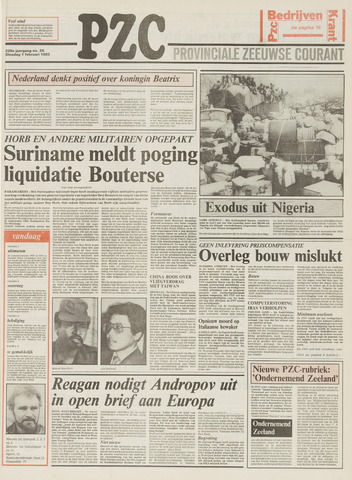 Provinciale Zeeuwse Courant 1983-02-01