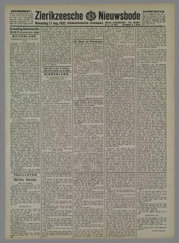 Zierikzeesche Nieuwsbode 1932-08-17