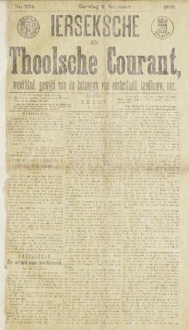 Ierseksche en Thoolsche Courant 1889-11-02