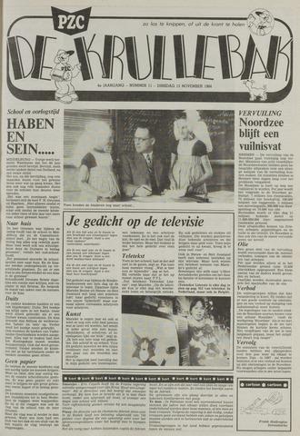 Provinciale Zeeuwse Courant katern Krullenbak (1981-1999) 1984-11-13