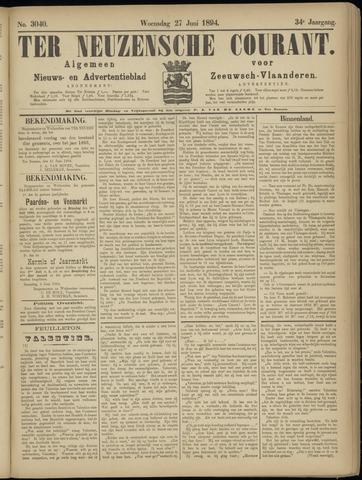 Ter Neuzensche Courant. Algemeen Nieuws- en Advertentieblad voor Zeeuwsch-Vlaanderen / Neuzensche Courant ... (idem) / (Algemeen) nieuws en advertentieblad voor Zeeuwsch-Vlaanderen 1894-06-27