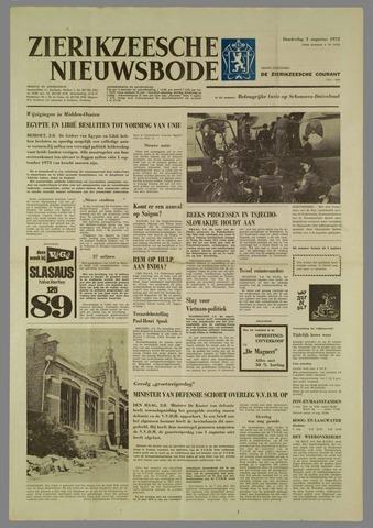 Zierikzeesche Nieuwsbode 1972-08-03