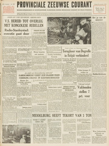 Provinciale Zeeuwse Courant 1964-11-20