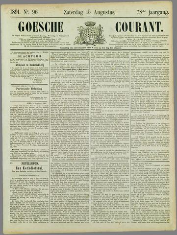 Goessche Courant 1891-08-15
