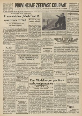 Provinciale Zeeuwse Courant 1952-09-25