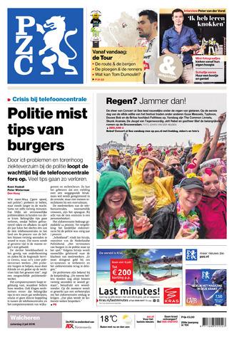 Provinciale Zeeuwse Courant 2016-07-02