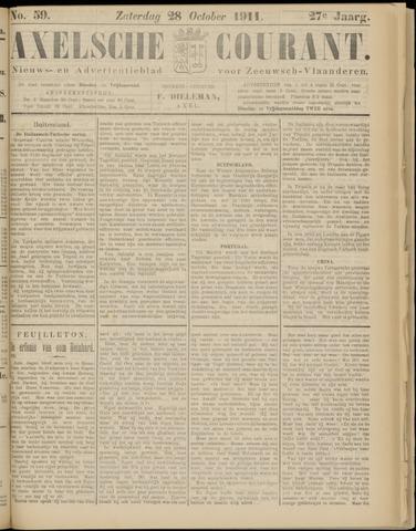 Axelsche Courant 1911-10-28