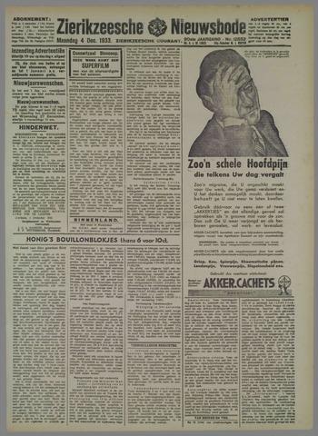 Zierikzeesche Nieuwsbode 1933-12-04