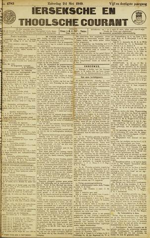 Ierseksche en Thoolsche Courant 1919-05-24