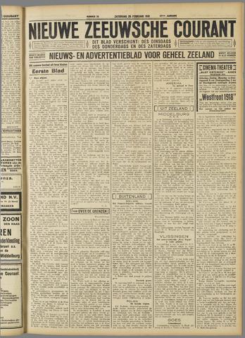 Nieuwe Zeeuwsche Courant 1931-02-28
