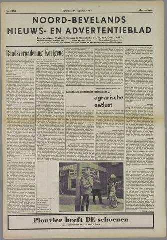 Noord-Bevelands Nieuws- en advertentieblad 1965-08-14