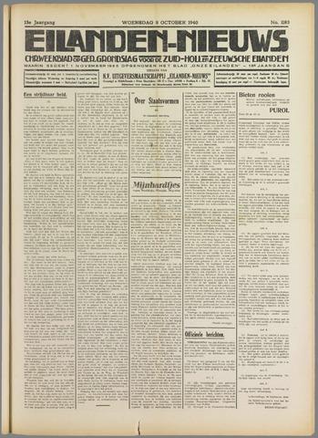 Eilanden-nieuws. Christelijk streekblad op gereformeerde grondslag 1940-10-09