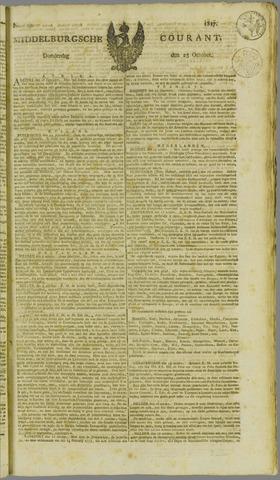 Middelburgsche Courant 1817-10-23