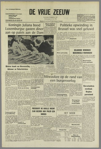 de Vrije Zeeuw 1967-09-14
