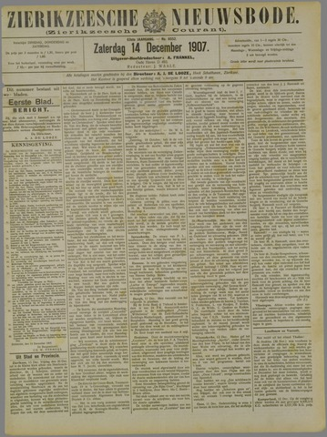 Zierikzeesche Nieuwsbode 1907-12-14