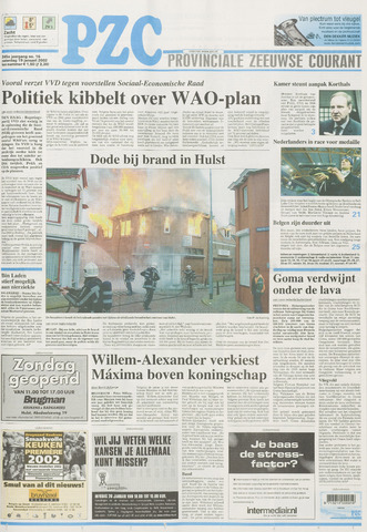 Provinciale Zeeuwse Courant 2002-01-19