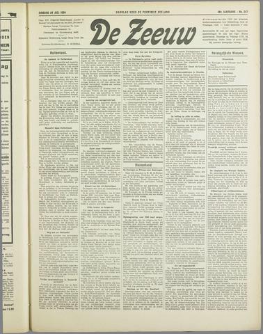 De Zeeuw. Christelijk-historisch nieuwsblad voor Zeeland 1934-07-24