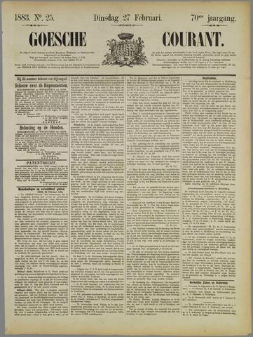 Goessche Courant 1883-02-27