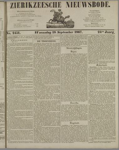 Zierikzeesche Nieuwsbode 1867-09-18