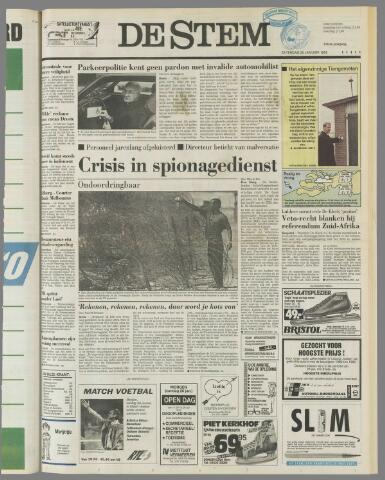 de Stem 1992-01-25