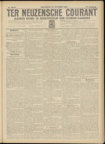 Ter Neuzensche Courant. Algemeen Nieuws- en Advertentieblad voor Zeeuwsch-Vlaanderen / Neuzensche Courant ... (idem) / (Algemeen) nieuws en advertentieblad voor Zeeuwsch-Vlaanderen 1937-10-27