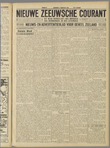 Nieuwe Zeeuwsche Courant 1934-08-11